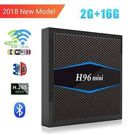 NEW ANDROID SMART TV BOX H96 MINI AVAILABLE IN EXCELLENT QUALITY