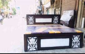 DOUBLE BED with full Box Storage  Double Bed के