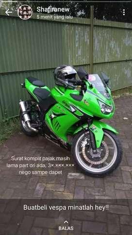 Dijual motor ninja