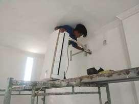 Service AC, Cuci AC, Isi Freon AC, Bongkar/Pasang AC, Perbaikan AC,
