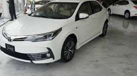 Toyota Corolla Gli get on easy monthly installment just on single call