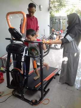 10 fungsi treadmill manual familly prinsporty
