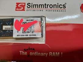 DDR3 RAM 4GB 1333