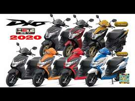 Honda Dio Brand New No income proof not required