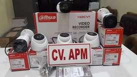 cctv dahua dvr 4ch lensa 2mp plus pasang di PETIR SERANG KAB