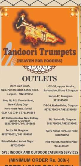 Riders required for restaurant on per order basis