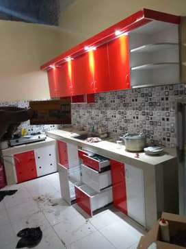 Kitchen set minialis
