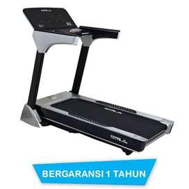 Treadmill elektrik listrik TL 166 motor 3HP || Sepeda statis G677