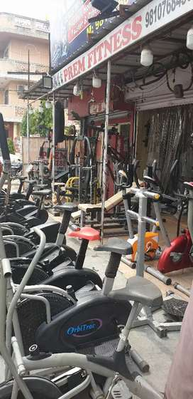 Used exercise equipments with warranty