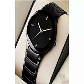 Black Stainless Steel Watch Just For Men  Brand:Kat
