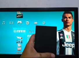 HDD PS3 eksternal 320GB berkualitas full 80 an game kekinian