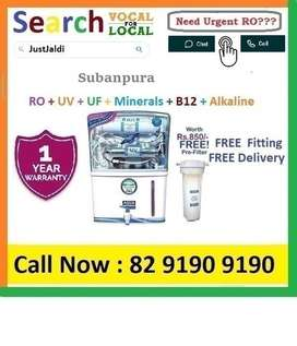 Suban7 RO Water Purifier Water Filter AC TV Cooler DTH 1BHK Aata Chakk