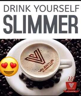 Slimroast kopi Valentus. Beli 5jar kopi gratis 1 box cocoa