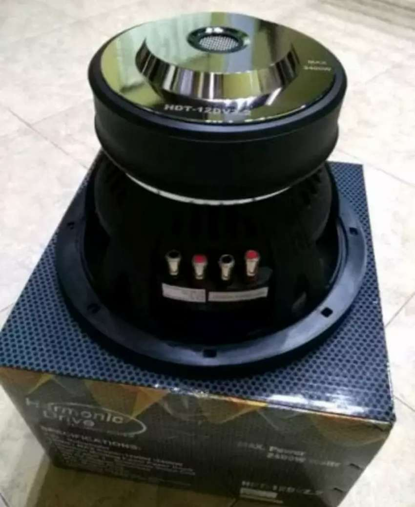 Subwoofer Branded Harmonic Drive 12 inci HDT 12 DVZ 2 0