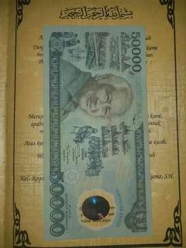 Jual Uang kertas kuno Tahun 1990