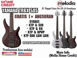 Promo Kredit Yamaha TRBX505 Syarat KTP+SIM di Melodia Musik Surabaya