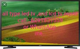 Led and lcd tv repair/ any problem