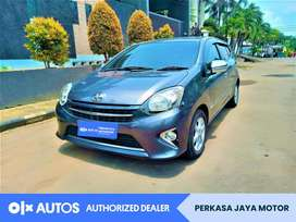 [OLX Autos] Toyota Agya 2014 G 1.0 Bensin A/T Abu-Abu #PJM
