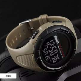 promo November jam tangan SKMEI tahan air 50m dipekanbaru