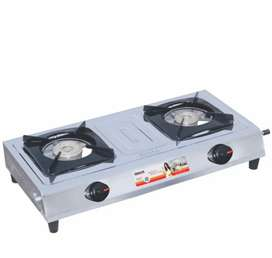 Inalsa Excel Stainless Steel 2 Burner Gas Stove
