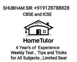 Private Home Tutor For CBSE And ICSE