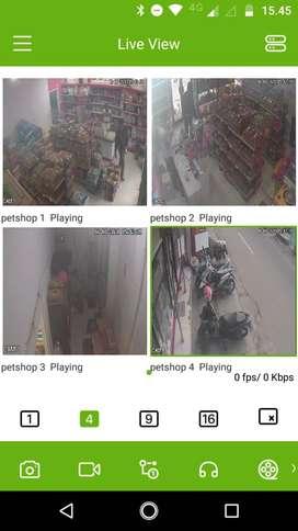 Perlengkapan CCTV Ready stok Harga Grosir