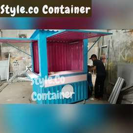 BOOTH CONTAINER CUSTOM | BOOTH SEMI CONTAINER | CONTAINER USAHA