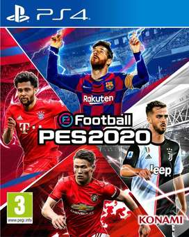 Game pes2020 ps4