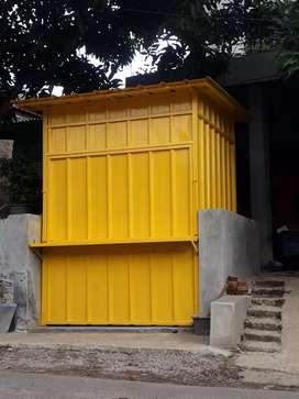 Gerobak/kios custom container