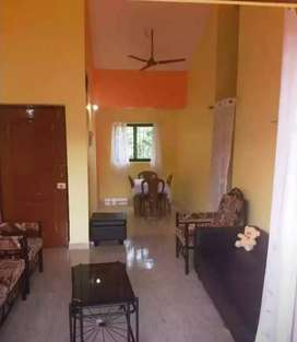 Available 2bhk flat for rent at siolim kudal
