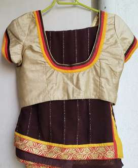 Saree with blouse ready made