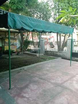 Tenda Jualan Ukuran 4x3 M, pemakaian 1 bulan