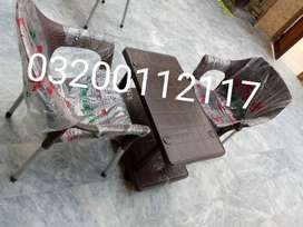 2 chairs 1 table set 0301/4233353 home delivery available