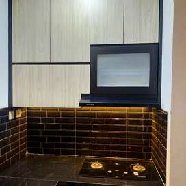 Kitchen set, lemari bawah tangga, dll custom Kramat jati