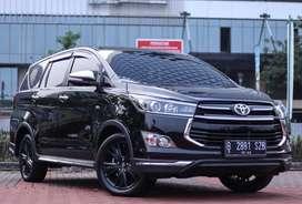 Toyota Innova Reborn 2.0 Venturer Bensin 2017 AT Matic Hitam!!