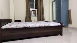 A 3 bhk fully furnished flat for rent in boring road Chauraha Patna