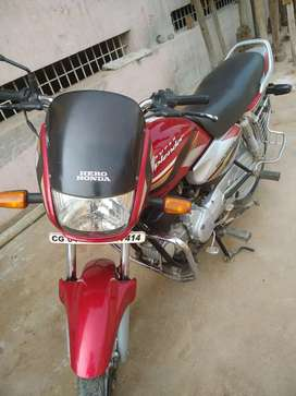 Hero honda super splander good condition bike with timetotime serviced