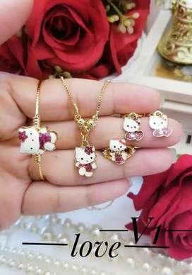 Perhiasan xuping anak set