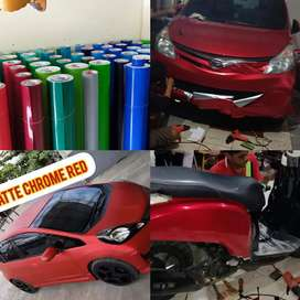 wrapping sticker polet bandung