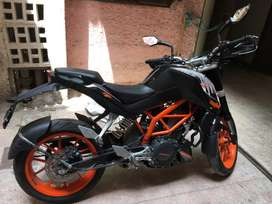 2014 KTM 390 Duke ABS 7900 Kms