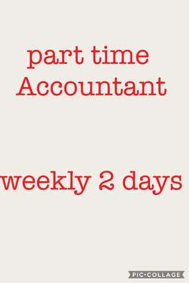 Part time accountant - 2 days a week