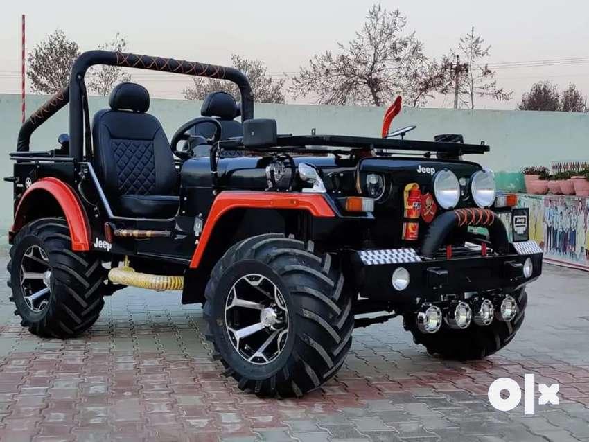 Modified jeep, Mahindra Jeep, Willy jeep,