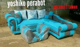 Yoshiko - sofa L furano biru