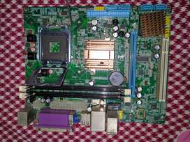 Motherboard only with back panel