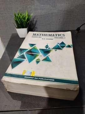 Mathematics r.d. Sharma class 12