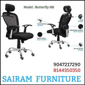 Sairam Furniture brand new office rolling chair super quality offer