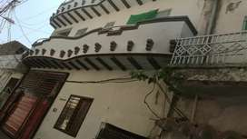 Upper portion for rent near line no 7 behand rahat backers