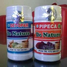 Detopar Pipeca obat asma tbc herbal batuk menahun berdarah bronkitis