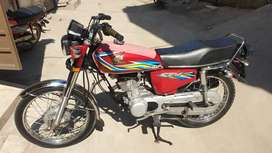 Honda CG 125 18B GOLDEN+DIAMOND NUM LEQ 12