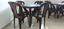 We have Restaurants Tables n chairs with pairs
